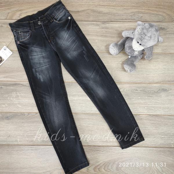 детская одежда недорого Брюки джинсовые подростковые для мальчиков -Bicirik- 9-10-11 лет