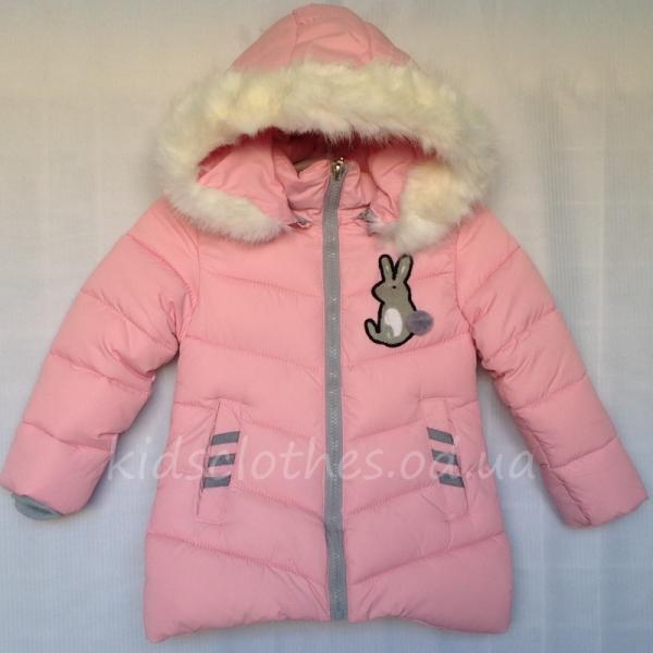 Куртка детская демисезонная утепленная для девочек