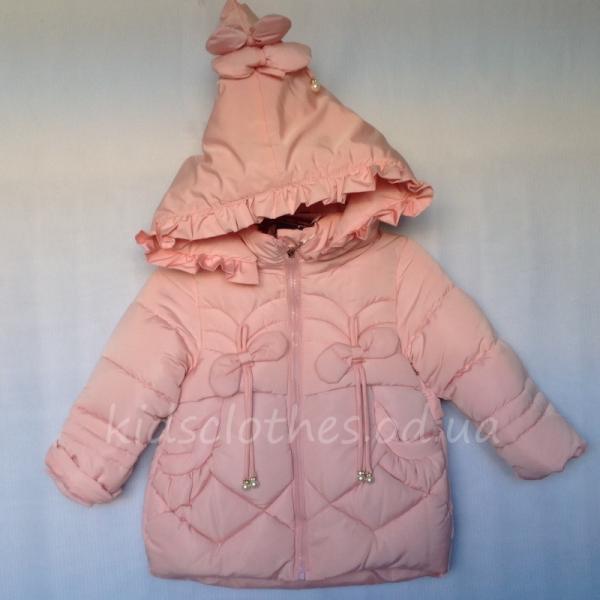 детская одежда недорого Куртка детская демисезонная утепленная для девочек
