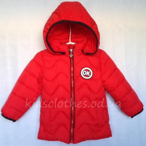 детская одежда недорого Куртка детская демисезонная утепленная для мальчиков