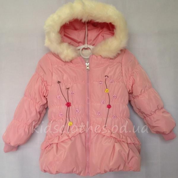 Куртка детская утепленная демисезонная для девочек