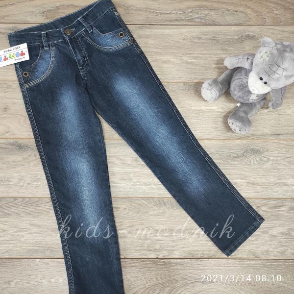 детская одежда недорого Брюки джинсовые для мальчиков -Tofiti- 6-7-8-8-9 лет