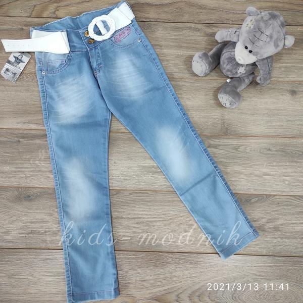 детская одежда недорого Брюки джинсовые для девочек -Bicirik- 8-9;9-10;10-11;12-13 лет
