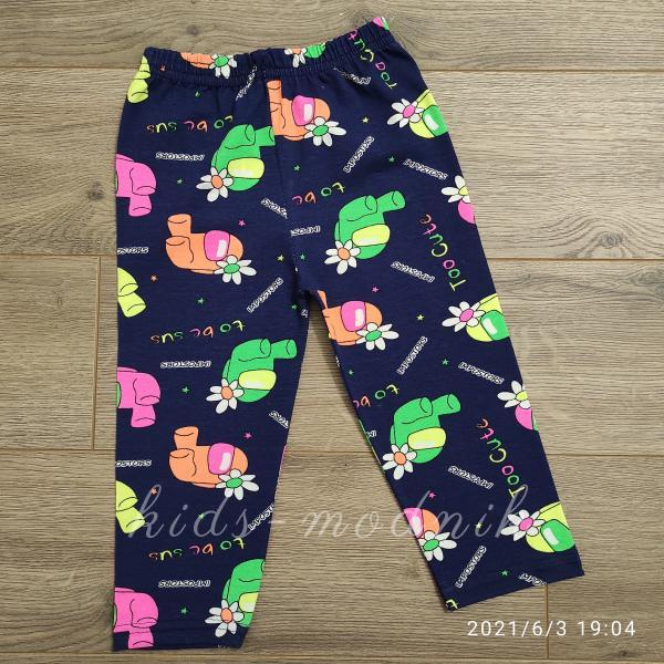 детская одежда недорого Капри детские летние для девочек разноцветные 8-9-10-11-12 лет